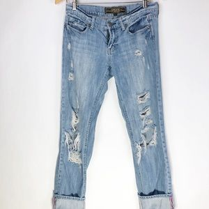 PINK VS Limited Edition boyfriend distressed jeans